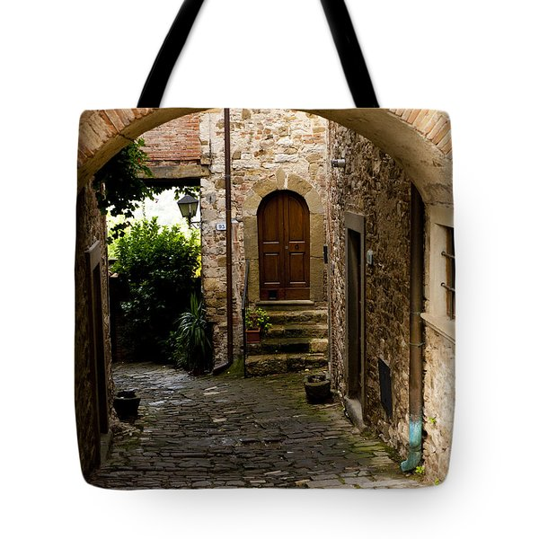 Entrance Tote Bag by Rae Tucker