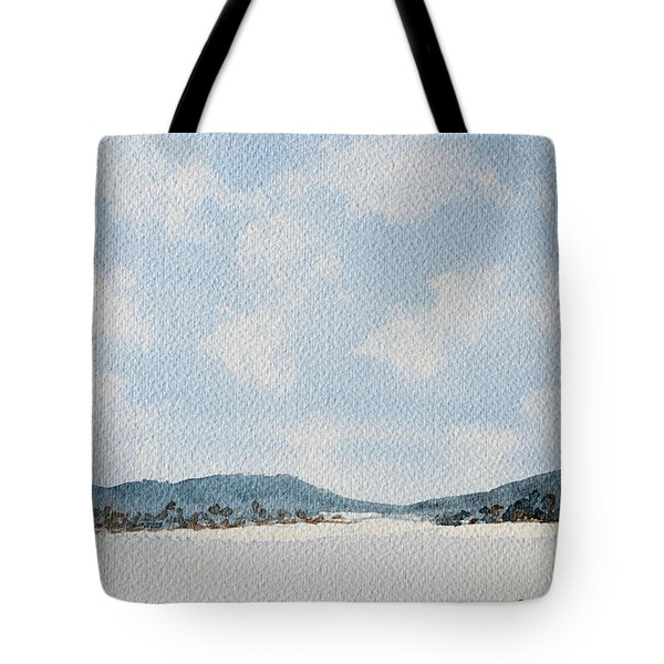 Entrance To Moulters Lagoon From Bathurst Harbour Tote Bag
