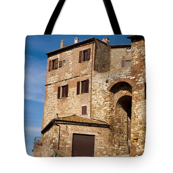 Entrance To The City Tote Bag by Rae Tucker