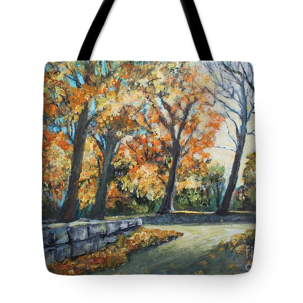 Entrance To The Greenhouse Tote Bag