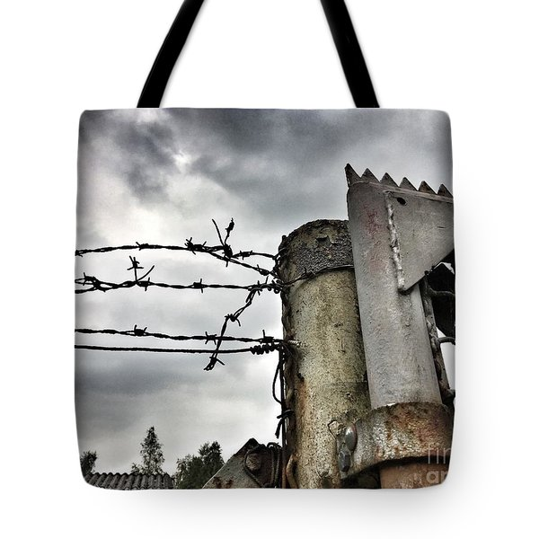 Entrance To The Old Ammunition Depot Of The Belgian Army Tote Bag