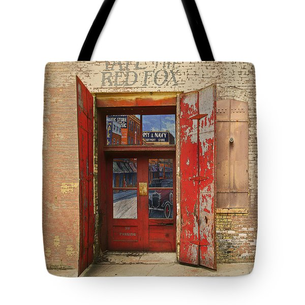 Tote Bag featuring the photograph Entry Into The Past by Jeff Burgess