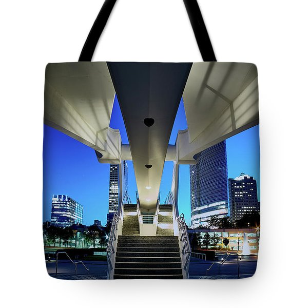 Entry To The City Tote Bag