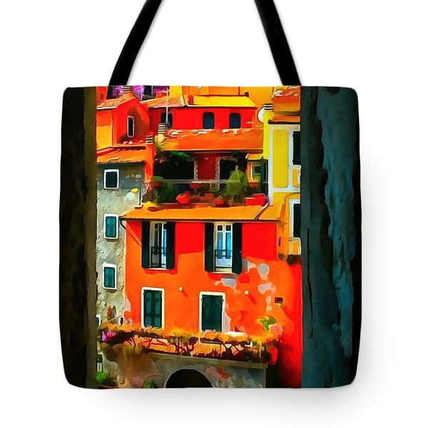 Entry Way Painting Tote Bag