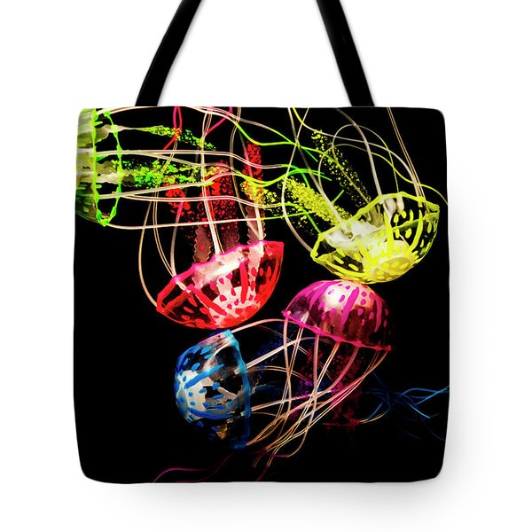 Entwined In Interconnectivity Tote Bag
