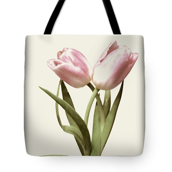 Entwined Tulips Tote Bag by Jeannie Rhode
