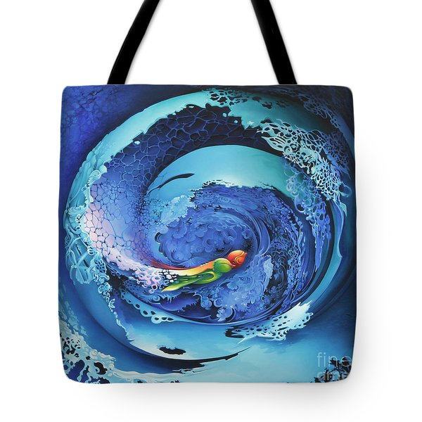 Entwinned Tote Bag by Symona Colina