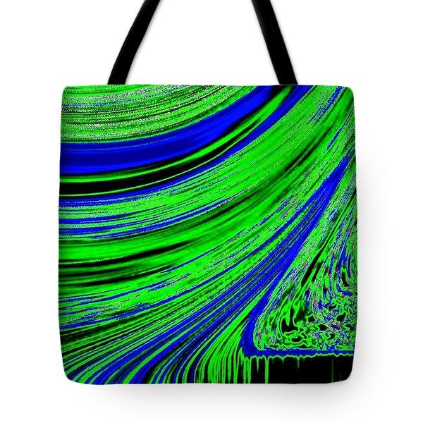 Environmental Ebb Tote Bag by Will Borden