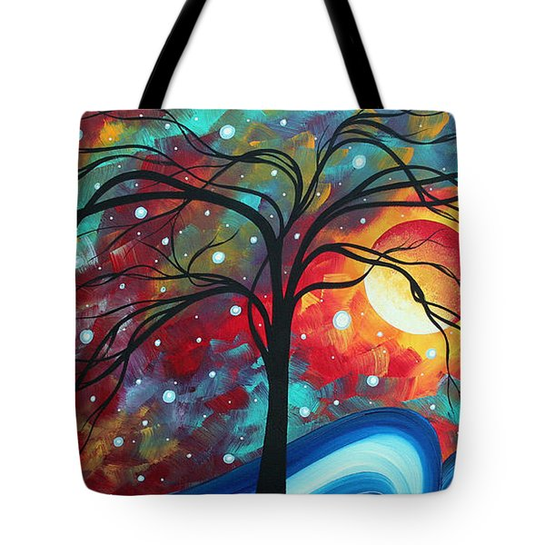 Envision The Beauty By Madart Tote Bag by Megan Duncanson