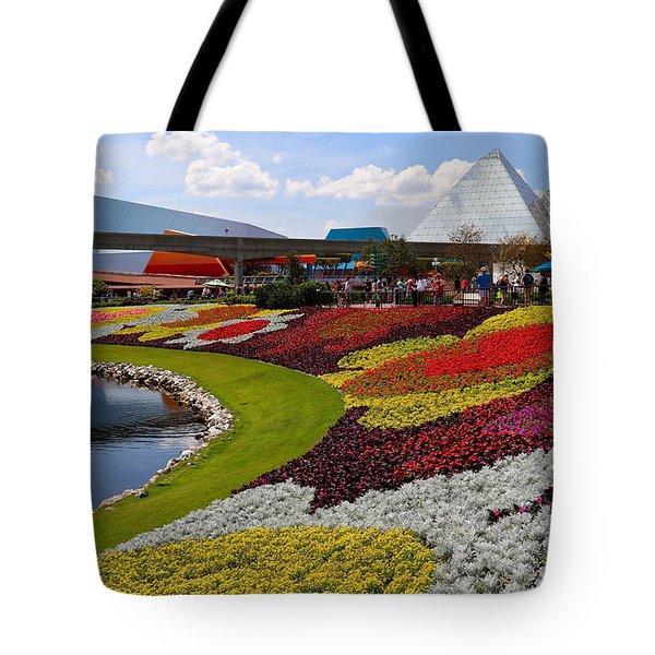 Epcot Gardens Tote Bag