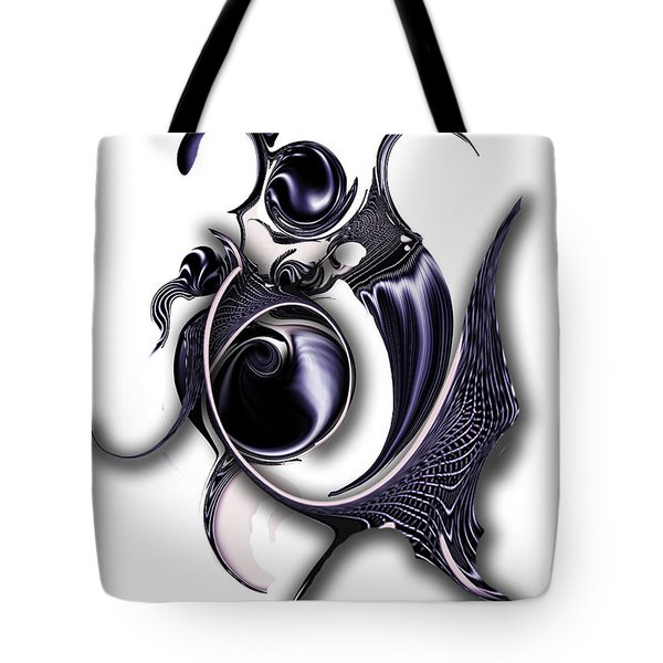 Ephemeral Purity Tote Bag