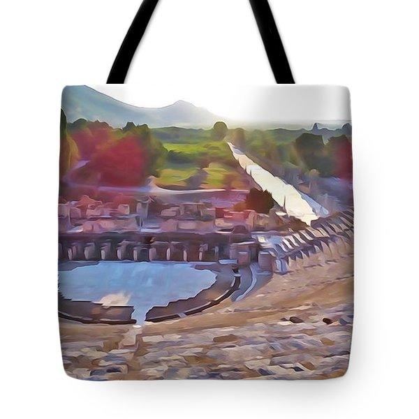 Ephesus Theater Tote Bag