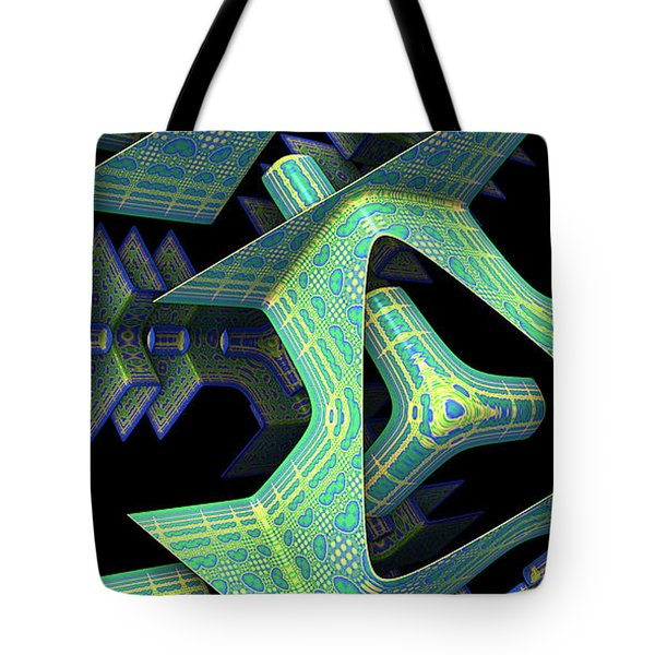 Tote Bag featuring the digital art Epic by Lyle Hatch