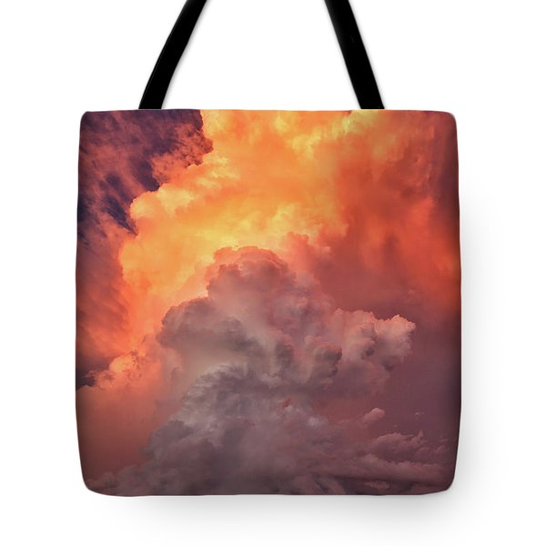 Epic Storm Clouds Tote Bag
