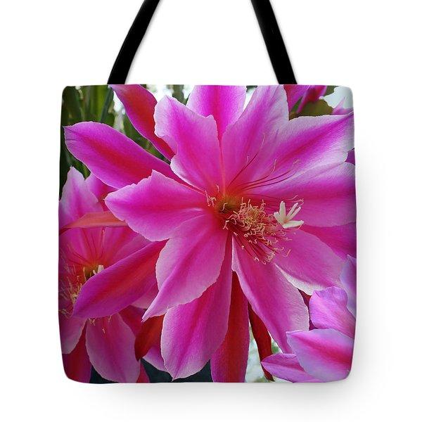 Epiphyllum Tote Bag by Ellen Henneke