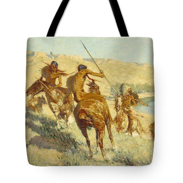 Episode Of The Buffalo Gun Tote Bag