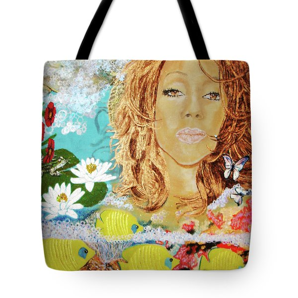 Epitome's Dream The Quadrant 3 Tote Bag