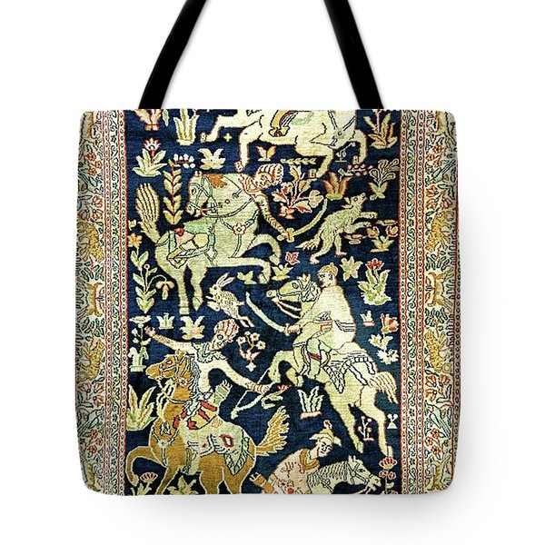 Equine Tapestry Tote Bag