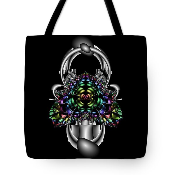 Tote Bag featuring the digital art Eralisater by Andrew Kotlinski