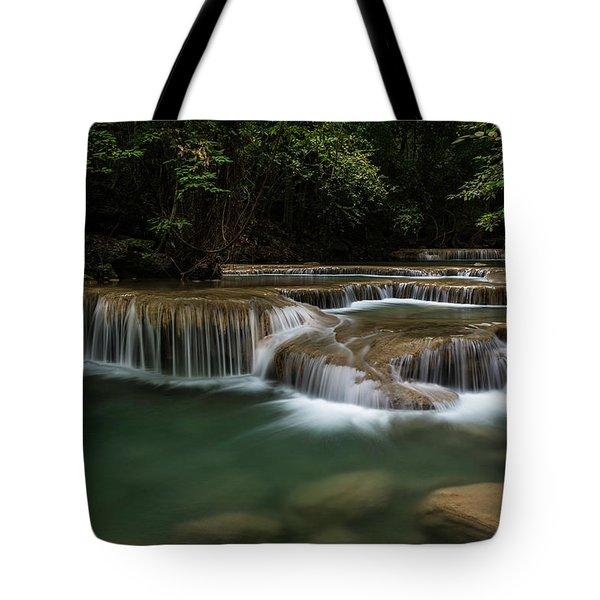 Erawan Falls Tote Bag
