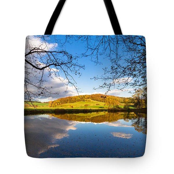 Erdfallsee, Harz Tote Bag