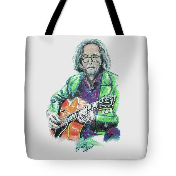 Eric Clapton Tote Bag by Melanie D
