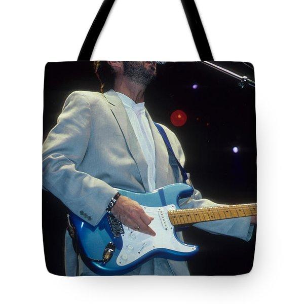 Eric Clapton Tote Bag by Rich Fuscia