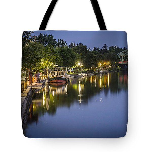 Erie Canal Stroll Tote Bag