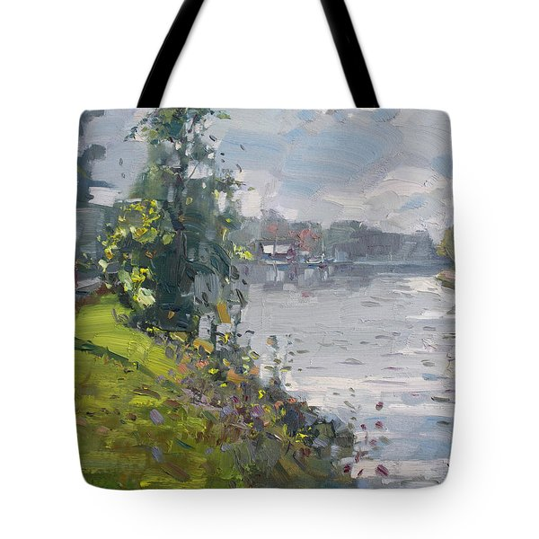 Erie Canal Tote Bag