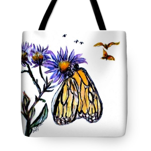 Erika's Butterfly One Tote Bag