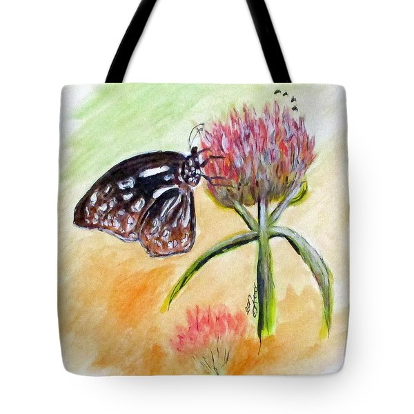 Erika's Butterfly Two Tote Bag