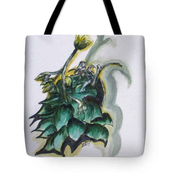 Erika's Spring Plant Tote Bag