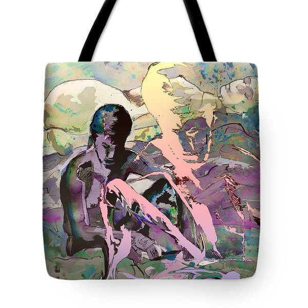 Eroscape 1009 Tote Bag by Miki De Goodaboom