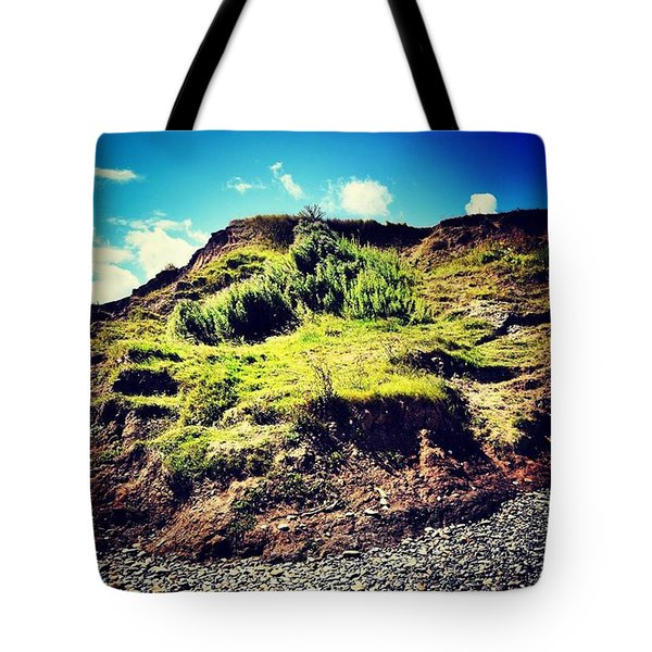 Erosion In Slow Motion Tote Bag