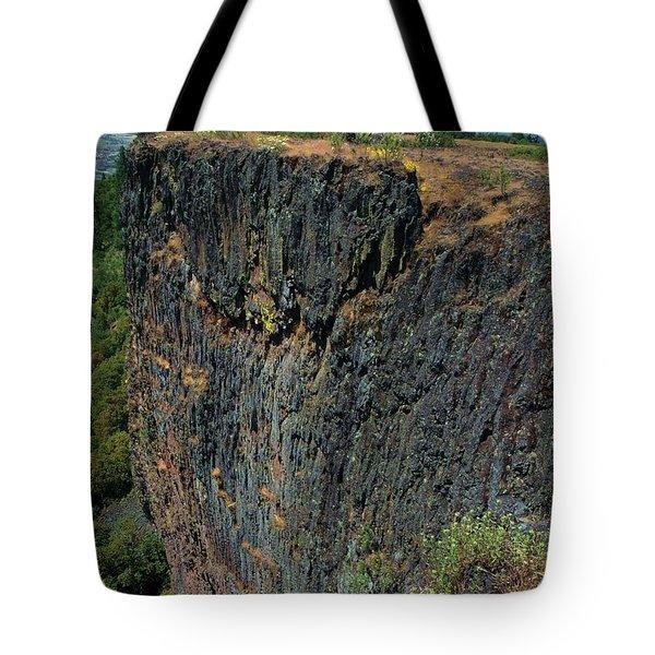 Erosion Of Flow Tote Bag