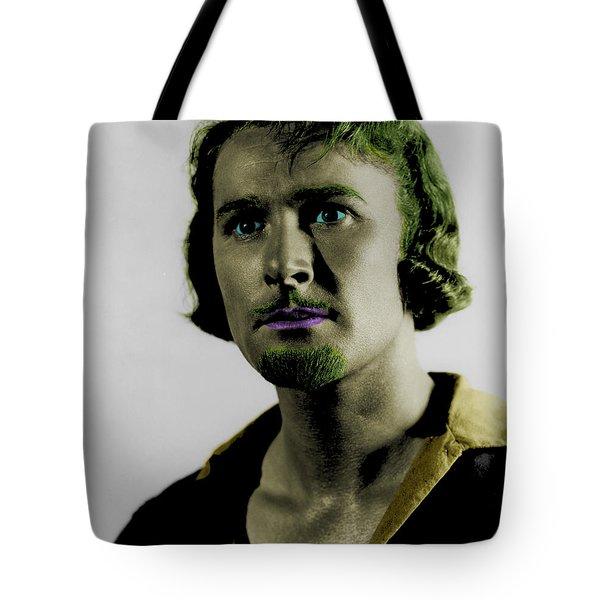 Errol Flynn In Color Tote Bag