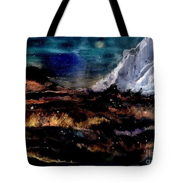 Eruption Tote Bag