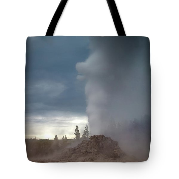 Eruption Tote Bag by Edgars Erglis
