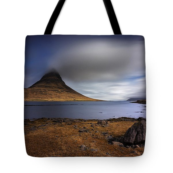 Eruption Of Emotions Tote Bag by Dominique Dubied