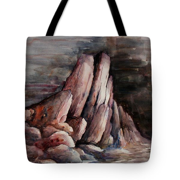 Eruption Tote Bag by Rachel Christine Nowicki