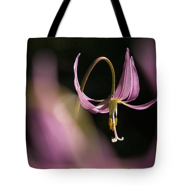 Erythronium Revolutum -365-35 Tote Bag
