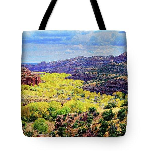 Escalante Canyon Tote Bag