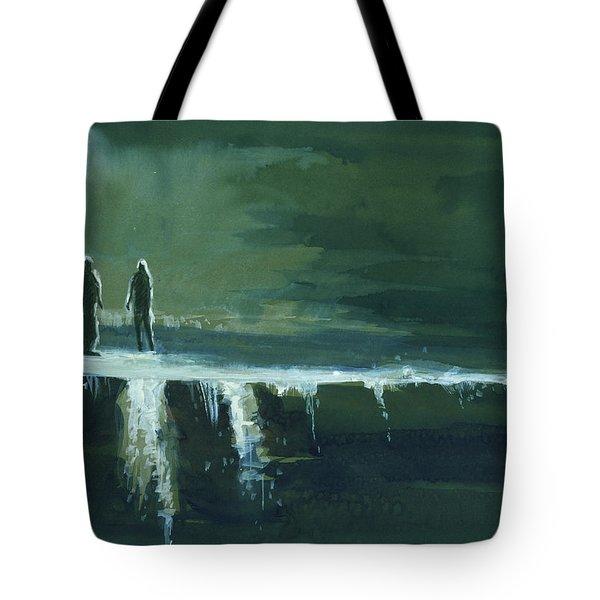 Escape Tote Bag by Anil Nene