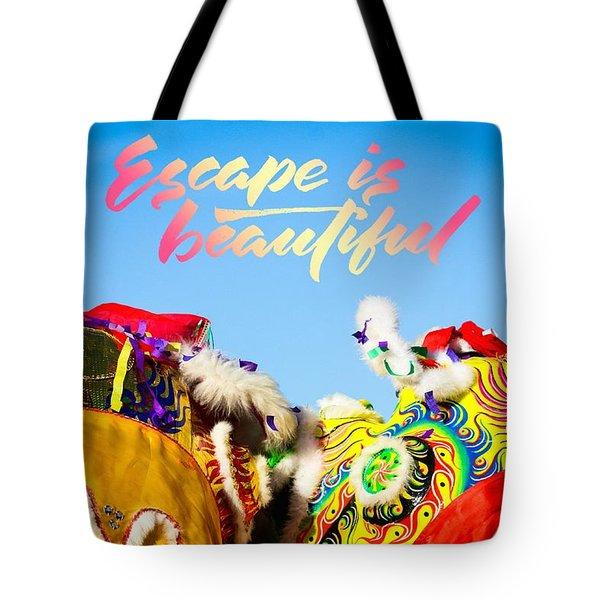 Escape Tote Bag by Bobby Villapando