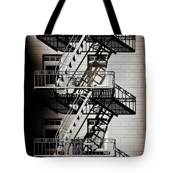 Escape Tote Bag by Dave Bowman