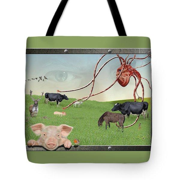 Escape From Eden Tote Bag