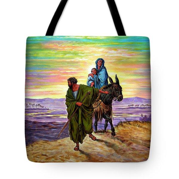 Escape Into Egypt Tote Bag
