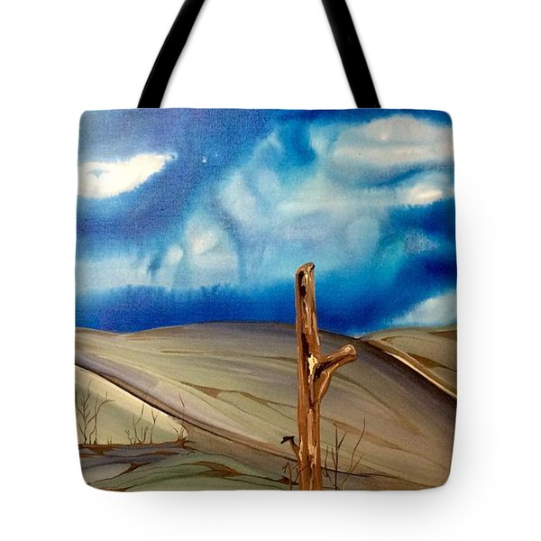 Escape Tote Bag by Pat Purdy