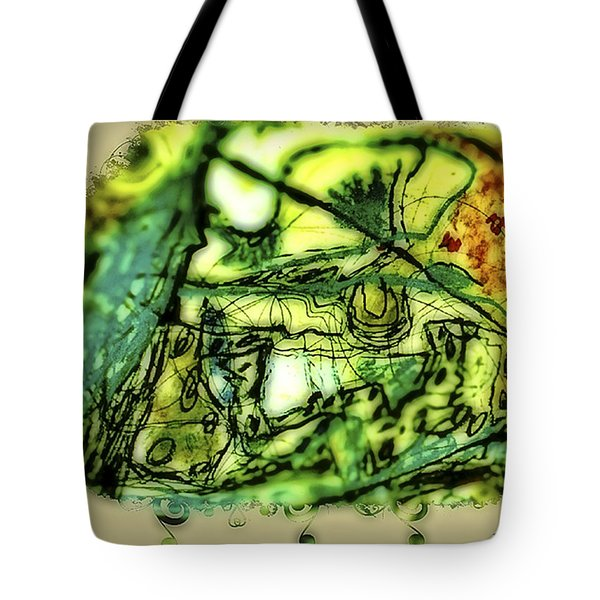 Escape The Whirlwind-2015 Tote Bag