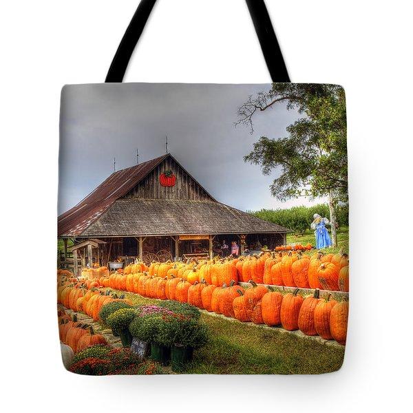 Escape To Autumn Tote Bag
